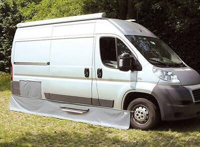 Fiamma Draught Rain Skirt For Fiat Ducato Motorhome Campervan Side Skirting