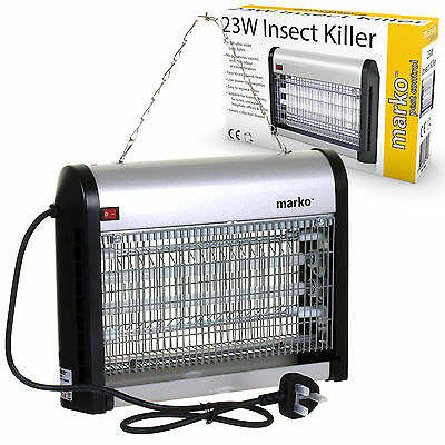 Industrial Electric Insect Fly Killer Pest Fly Mosquito Bug Killer Zapper UV 23W