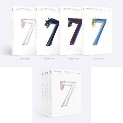 BTS-[Map Of The Soul 7] CD,PhotoBook,Lyric,Card,Post,Sticker,Paper,poster eldo