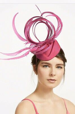 PETER BETTLEY FUSHIA PINK WEDDING FASCINATOR Mother Of The Bride Hat OCCASION