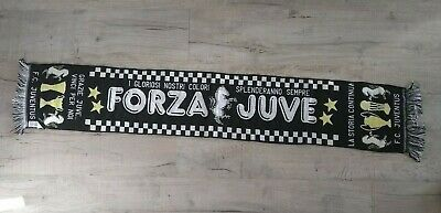 Juventus Forza Juve FC Official Football Scarf