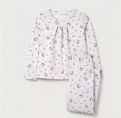 the little white company Garland Floral Pyjamas Size 9-10 Years RRP£24 {N11}