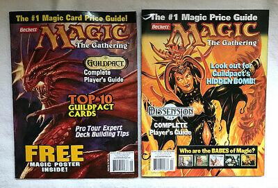 2 Beckett 2006 Magic The Gathering Price Guides Issues 5 & 6