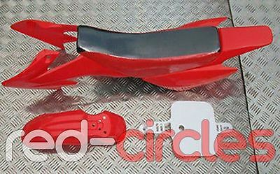 RED CRF50 PIT BIKE PLASTIC FAIRING SET WITH SEAT PAD 50cc 110cc 125cc PITBIKE