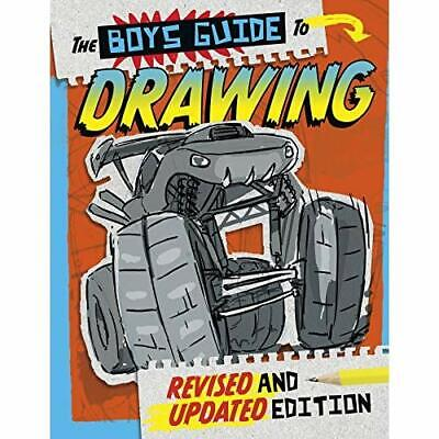 The Boys' Guide to Drawing - Paperback / softback NEW Cella, Clara