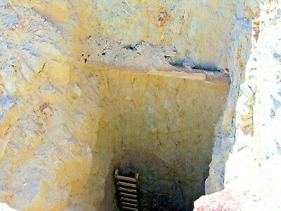Historic Gold Mine Nevada Mining Claim Fallon Copper Silver Shaft Tailings-XRF