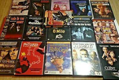 16 DVD Lot 8 Mile Outsiders Desperado Mean Girls Client Jarhead Vertigo + More