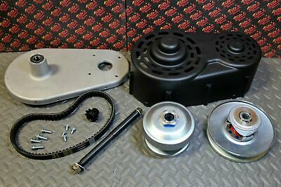 Go Kart Torque Converter Kit 40 Series Clutch Pulley Driver Driven 8 to 16HP