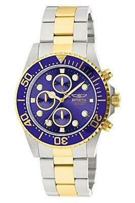 """Invicta Men's 1773 """"Pro Diver"""" 18k Gold Ion-Plating and Stainless Steel Watch"""