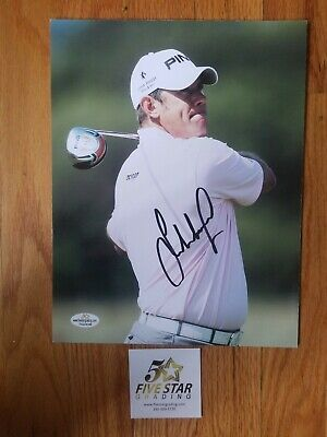 Lee Westwood Hand Signed Autograph 8x10 Photo COA