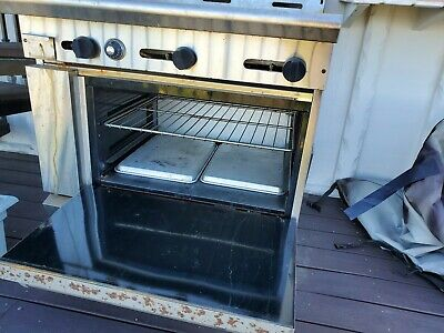 American Range NATURAL GAS powered Griddle Top and Oven