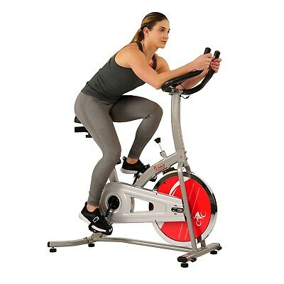 Sunny Fitness Health Pro Indoor Cycling Exercise Bike Stationary Cycle Training