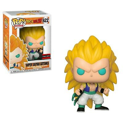 FLAWED Box Funko Dragon Ball Z SS3 Gotenks Pop Figure AAA Anime Exclusive