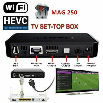 Mag 250 TV BOX Reproductor multimedia Internet Set Top Box decodificador MAG 250