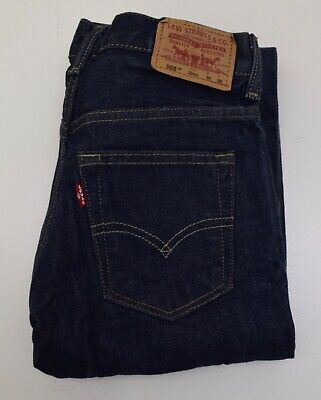 Jr1790  Levi's Strauss 505 Boys Denim Jeans W26   L26 Age 12 Years
