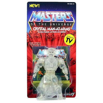 Masters of the Universe figurine Vintage Collection Crystal Man MOTU SUPER7