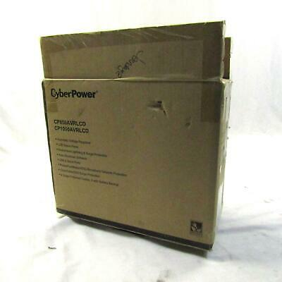 New CyberPower CP1000AVRLCDa Battery Backup with Surge Protection