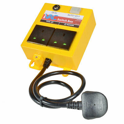 Automatic vacuum switch and controller - 13A Auto Switch Box - by iVAC