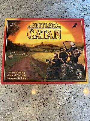 Settler of Catan Board Game The Settlers Of Catan COMPLETE # 3061