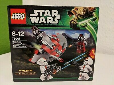 ## LEGO Star Wars 75001 - Republic Troopers vs Sith Troopers NEU & OVP ##