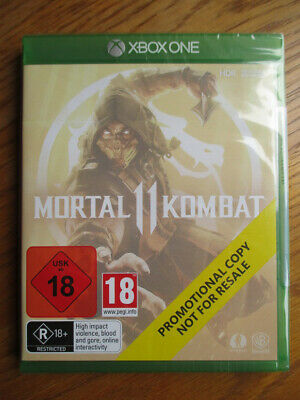 Mortal Kombat 11 PROMO – Xbox One ~ NEW & SEALED (Promotional Copy) Full Game