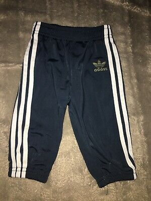 Little Boys Adidas Tracksuit Bottoms / Joggers Age 3-6 Months