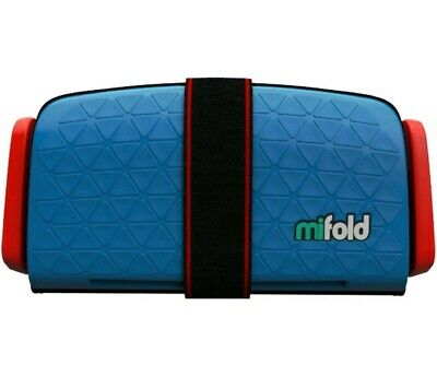 Mifold MF01-US/DBL Grab-and-Go Car Booster Seat (Denim Blue)