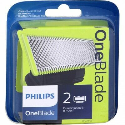 Philips OneBlade replacement blades heads 2 PACK one blade phillips QP220