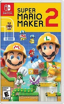 Super Mario Maker 2 -- Standard Edition ( Nintendo Switch , 2019)