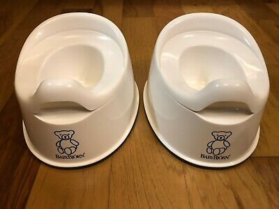 BabyBjörn Smart Potty ~ Quantity of 2 ~ Snow White ~ Excellent Condition