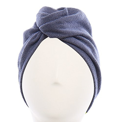 Hair Turban Patented Design Hands-Free Microfiber Drying Lisse Luxe Essential