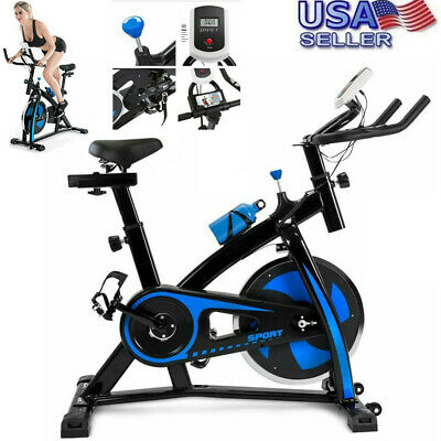 Indoor Stationary Exercise Bike Cycling Bicycle Fitness Cardio Workout Gym USA