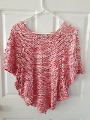 Womens Knit Top Size XS From Jeans West - Pink - Preloved