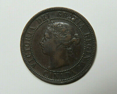 1888 Canada Large Cent Foreign Coin No2