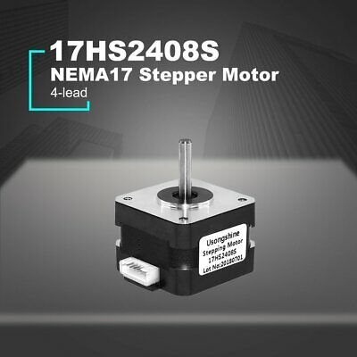4-lead Nema 17 Stepper Motor 42 Motor 3D Printer Motor Gear Motor 17HS2408S AZ