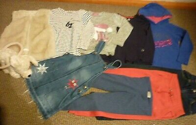 Bundle Girls Clothes age 6-7yrs Next Pineapple Gilet Joggers Jeans Tops Leggings