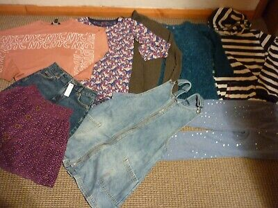 Bundle Girls Clothes age 12-13yrs Fat Face  Next  New Look Jeggings Tops Skirt