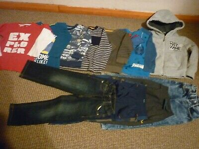 Bundle Boys Clothes age 3-4yrs Haywire Next Spiderman Jeans Tops Hoodie Joggers