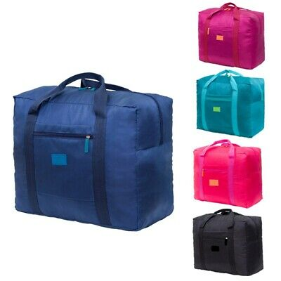 Portable Waterpoof Foldable Travel Luggage Baggage Storage Carry-On Duffle Bag #