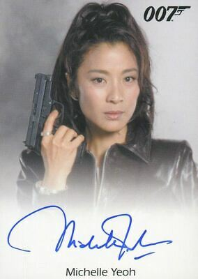 James Bond Archives Final Edition 2017 Michelle Yeoh Autograph Card