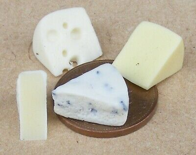 MINIATURE DOLLHOUSE 1:12 SCALE CHEDDAR CHEESE F173