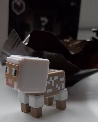 Minecraft Collectible Mini Figures Mattel Dig In! Series 4 Sheared Sheep