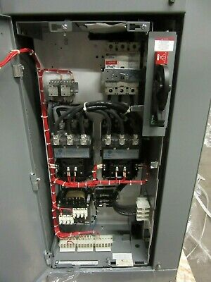 New Ab 500L-Dod93 Size 3 Reversing Contactor W Mcc Bucket 100A Rated Breaker