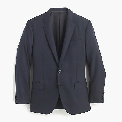 J.Crew Crosby Classic-fit suit jacket w/ center vent in Italian wool 44R B2097
