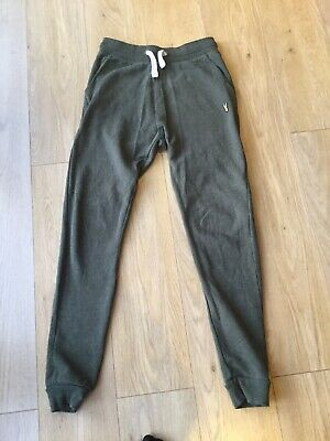 NEXT Relaxed Slim Fit Jogger Green Khaki Small with Long Leg VGC