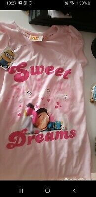 Girls Despicable Me Nightgown 4/5