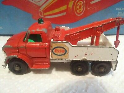 Matchbox 71C Ford Heavy Wreck Truck ESSO Reproduction Waterslide Transfers Set