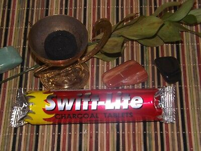 One (1) Roll of SWIFT-LITE Charcoal for Incense Resin and Shisha