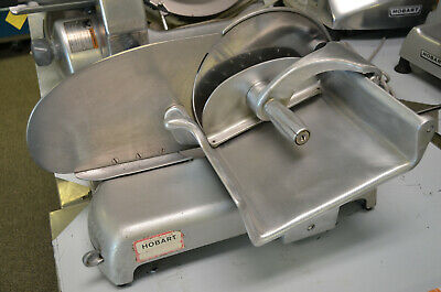 "Hobart Commercial Meat Cheese Vegetable Personal Size Slicer Model 410 10"" Blade"