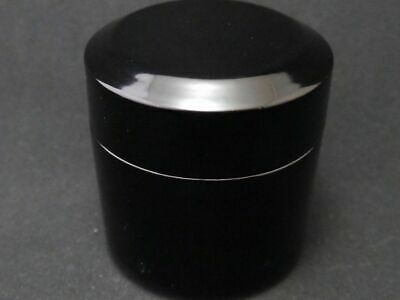 Japanese Traditional Lacquer Wooden Tea caddy Fubuki-Natsume Chaire (829)